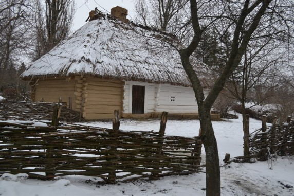 Хата діда по матері Тараса Шевченка Якима Бойка, де народився майбутній Кобзар