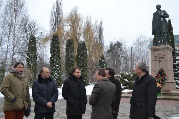 Пам'ятник Т. Шевченку у с. Шевченкове (колишня Керелівка)