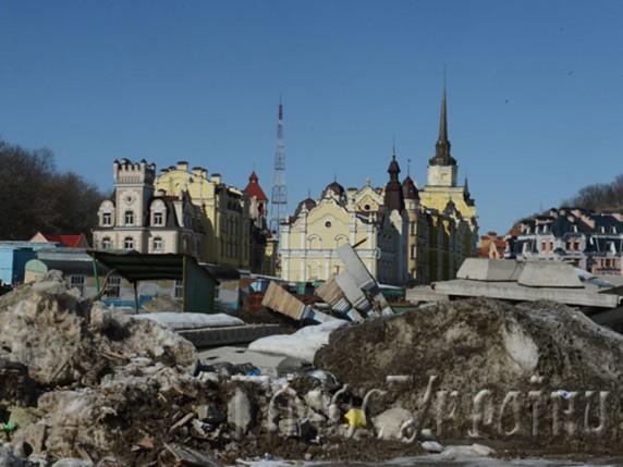 Вид на звалище та Воздвиженку з будинку Світлицького. Фото golos.com.ua
