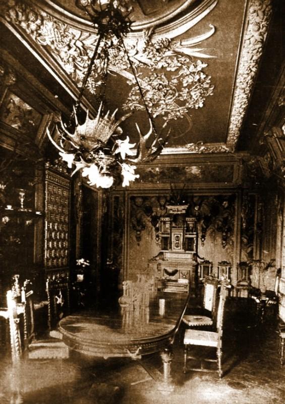 Їдальня (фото 1904 р., надано Музеєм історії Києва)