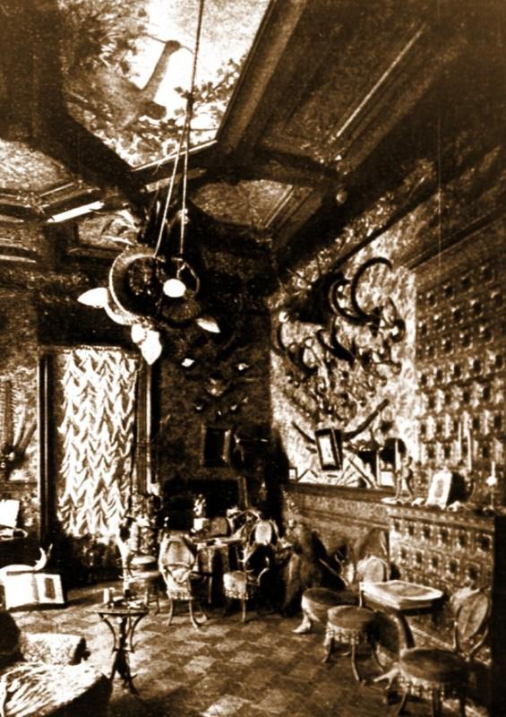 Кабінет Городецького (фото 1904 р., надано Музеєм історії Києва)