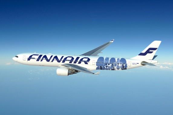 Цим зображенням, серед іншого, оздоблений літак Airbus 330 фінської авіакомпанії Finnair, який здійснює далекомагістральні польоти до Нью-Йорка і в Азію. Фото: aftonbladet.se