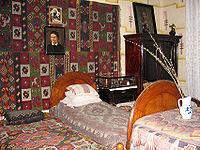 Спальня Ольги Кобилянської в літературно-меморіальному музеї письменниці