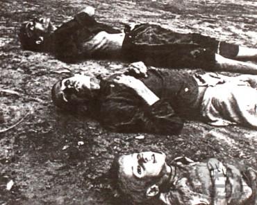 Померлі з голоду, 1932-1933 рр. Фото territoryterror.org.ua