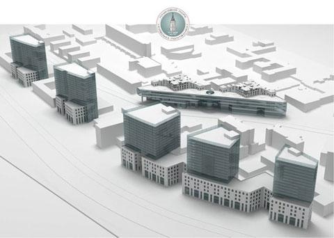 Проект інноваційного містечка. Фото vk.me