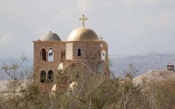 Бетані - місце хрещення Ісуса Христа, Йорданія telegraph.co.uk