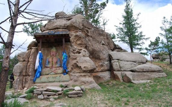 Гора Бурхан Халдун, Монголія telegraph.co.uk