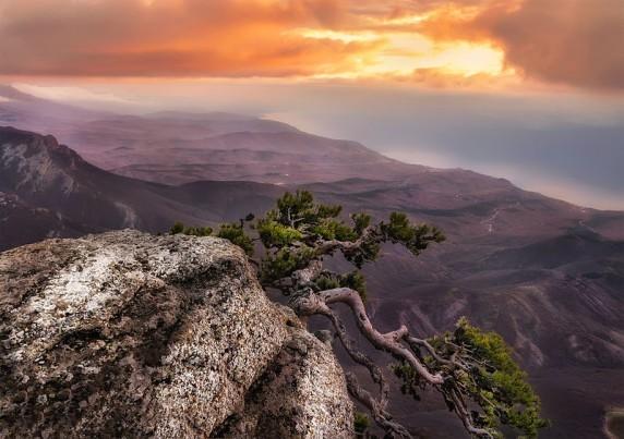 Анастасія Сак: «Урочище Демерджі на світанку»