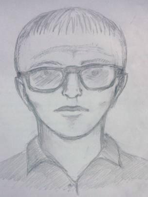 Фоторобот підозрюваного, який оприлюднила поліція/bbc.com