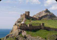 Генуэзская крепость в Судаке.  Экскурсионные туры в Крым Крымская кругосветка.